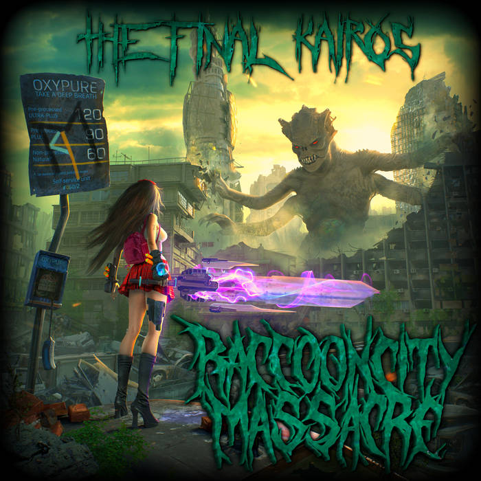 RACCOON CITY MASSACRE - The Final Kairos cover