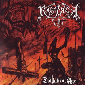RAGNAROK - Diabolical Age cover 
