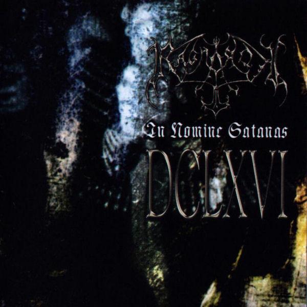 RAGNAROK - In Nomine Satanas cover