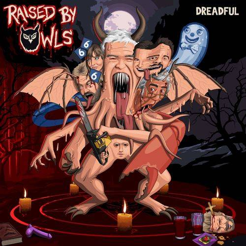 RAISED BY OWLS - Dreadful cover