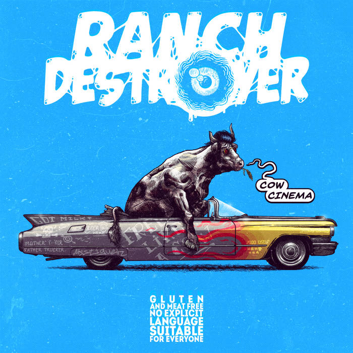RANCH DESTROYER - Cow Cinema cover