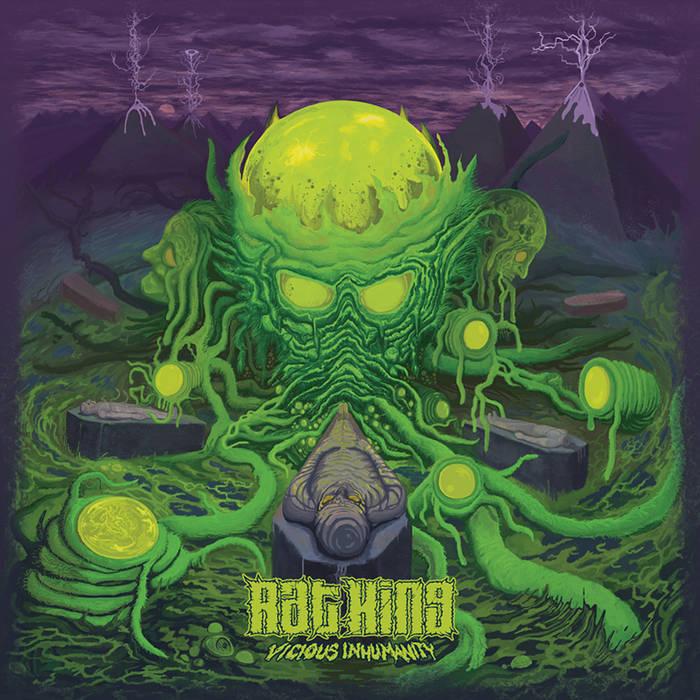 RAT KING (WA) - Vicious Inhumanity cover