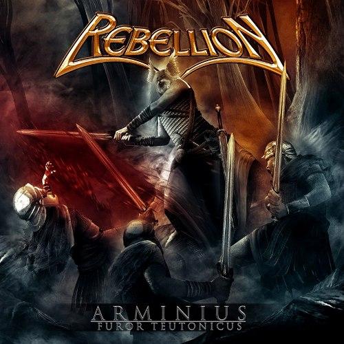 REBELLION - Arminius: Furor Teutonicus cover