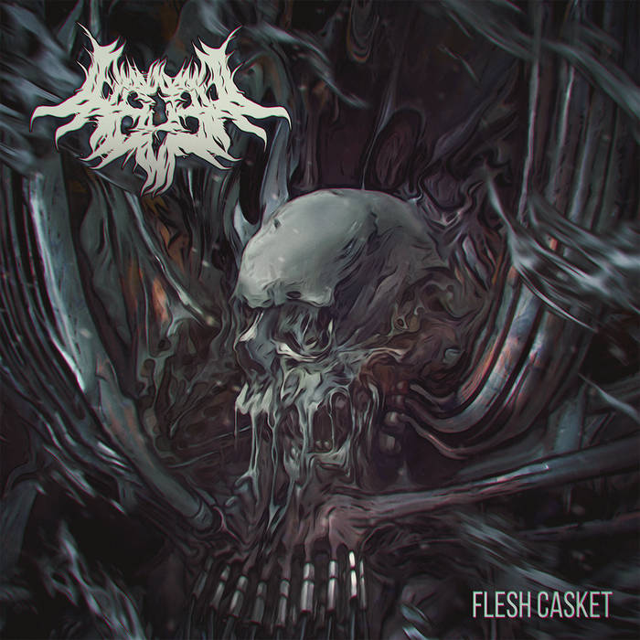 REG3N - Flesh Casket cover