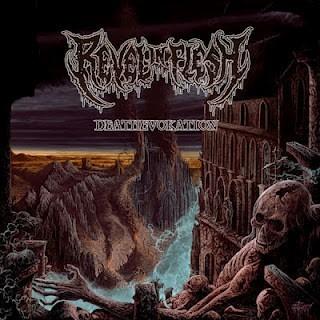 REVEL IN FLESH - Deathevokation cover