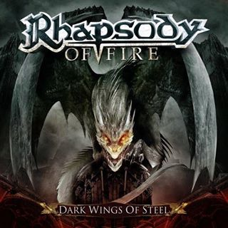 RHAPSODY OF FIRE - Dark Wings of Steel cover