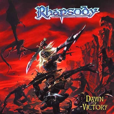 RHAPSODY OF FIRE - Dawn Of Victory cover