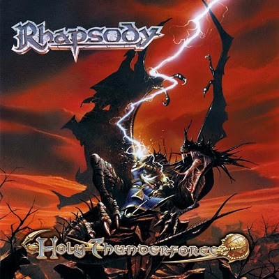 RHAPSODY OF FIRE - Holy Thunderforce cover
