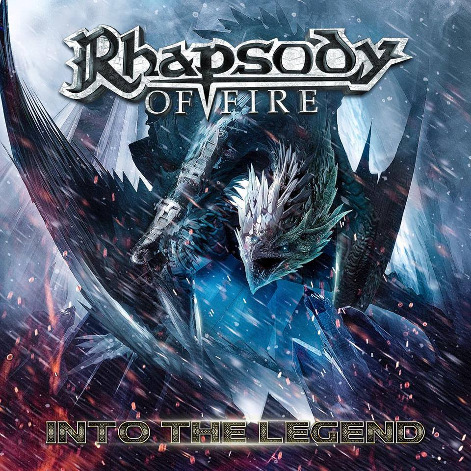 RHAPSODY OF FIRE - Into the Legend cover