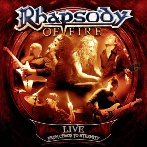 RHAPSODY OF FIRE - Live - From Chaos To Eternity cover
