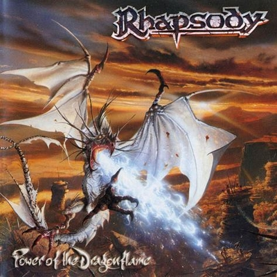 RHAPSODY OF FIRE - Power Of The Dragonflame cover