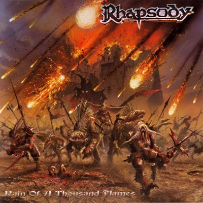 RHAPSODY OF FIRE - Rain Of A Thousand Flames cover