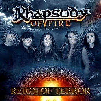 RHAPSODY OF FIRE - Reign Of Terror cover