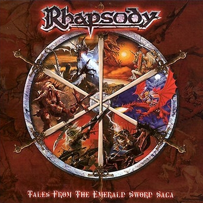 RHAPSODY OF FIRE - Tales From The Emerald Sword Saga cover