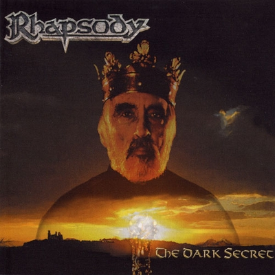 RHAPSODY OF FIRE - The Dark Secret cover