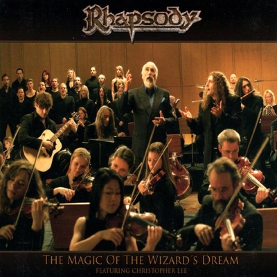 RHAPSODY OF FIRE - The Magic Of The Wizard's Dream cover