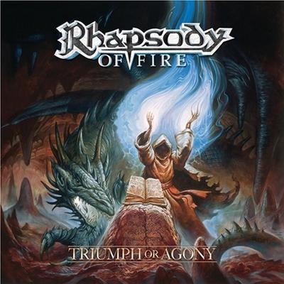 RHAPSODY OF FIRE - Triumph Or Agony cover