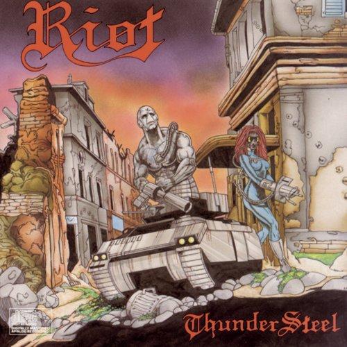 RIOT - ThunderSteel cover