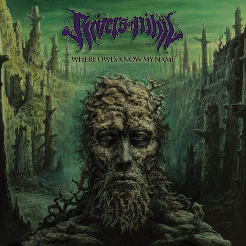 RIVERS OF NIHIL - Where Owls Know My Name cover