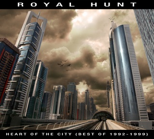 ROYAL HUNT - Heart of the City cover