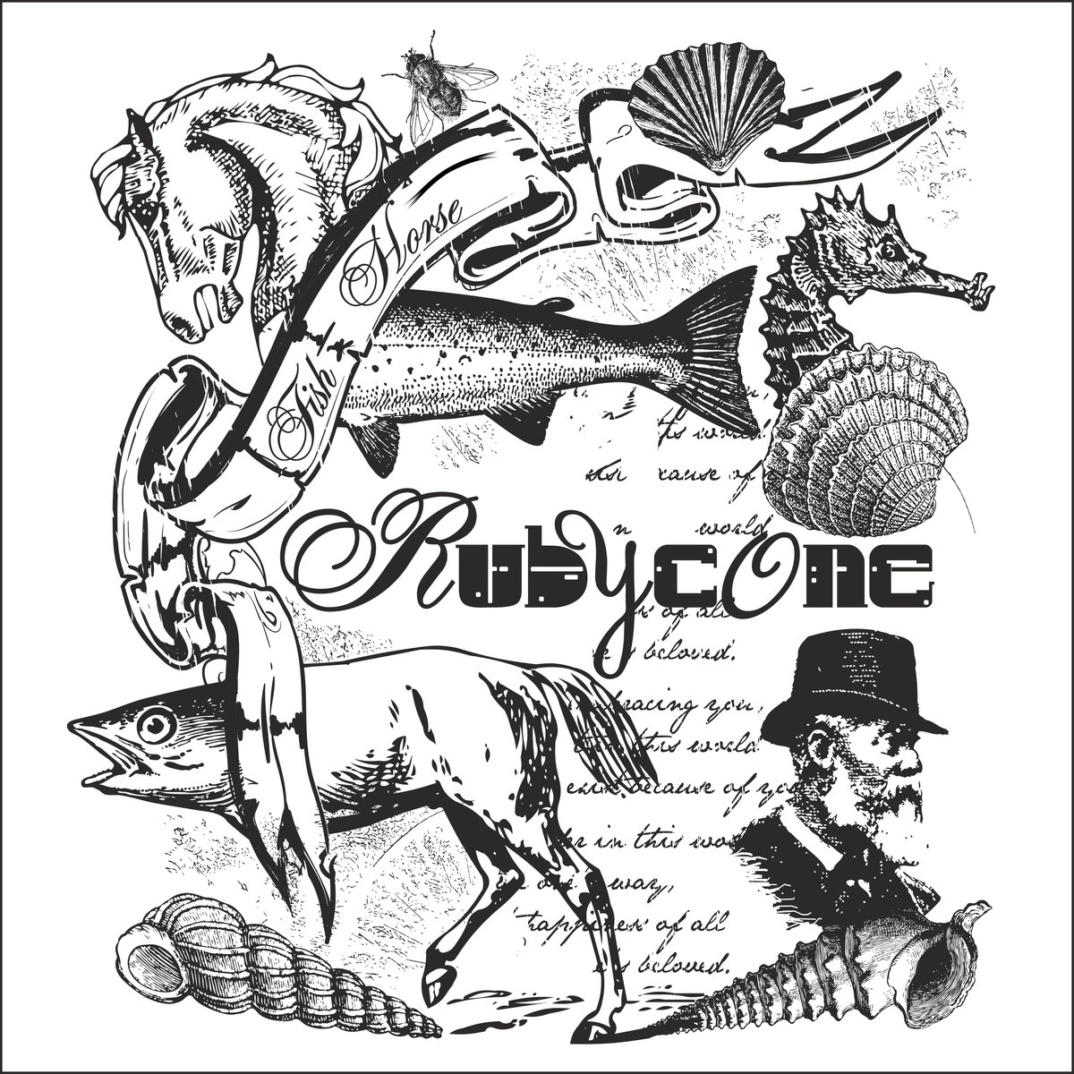 RUBYCONE - Fish​-​Horse cover