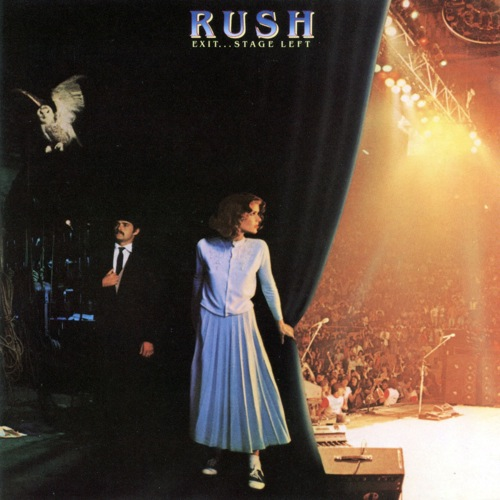 RUSH - Exit... Stage Left cover