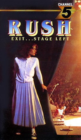RUSH - Exit...Stage Left cover
