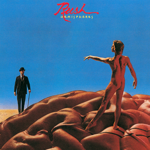 RUSH - Hemispheres cover