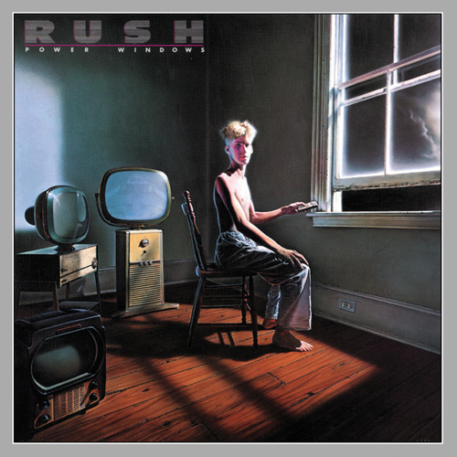RUSH - Power Windows cover