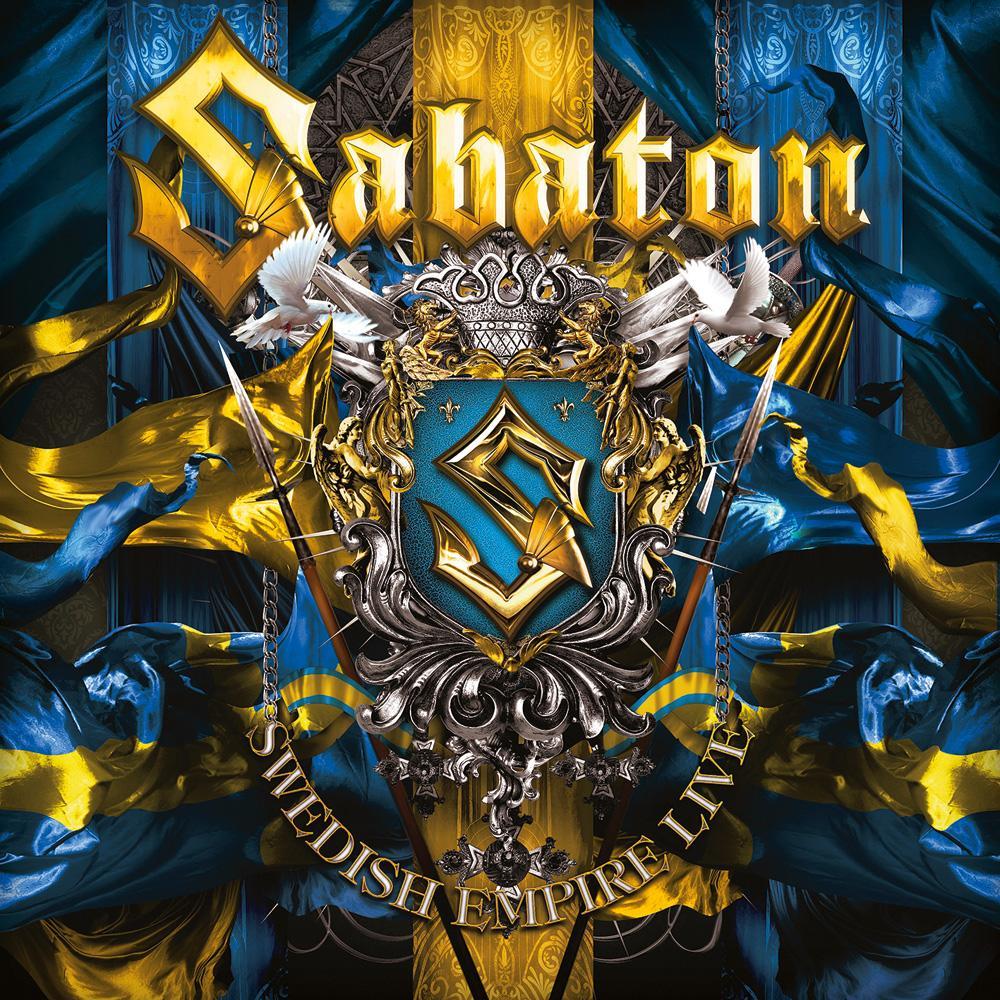 SABATON - SWEDISH EMPIRE LIVE cover