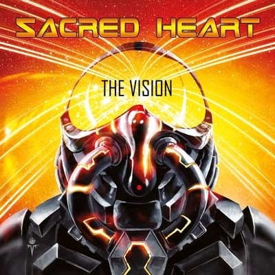 SACRED HEART - The Vision cover