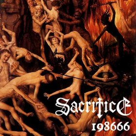 SACRIFICE - 198666 cover