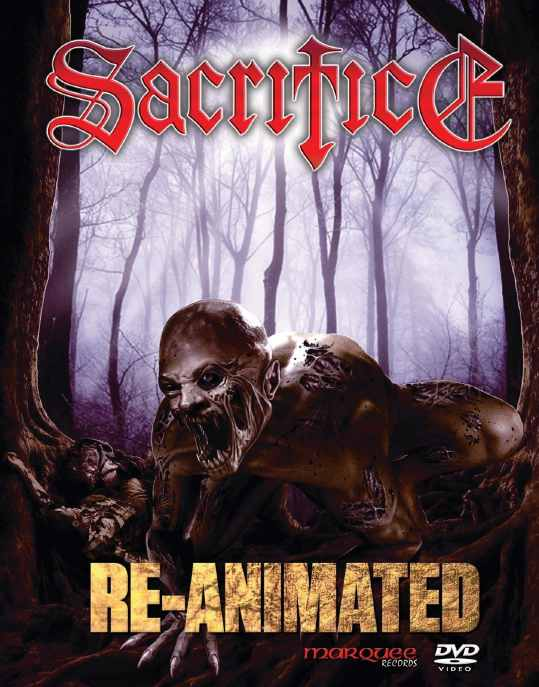 SACRIFICE - Re-Animated cover