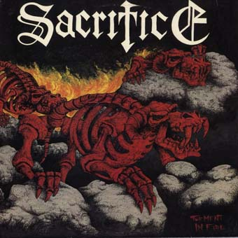 SACRIFICE - Torment in Fire cover