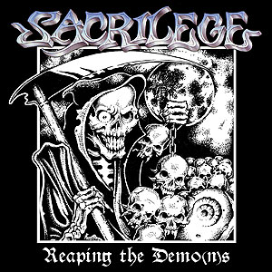 SACRILEGE - Reaping the Demo(n)s cover