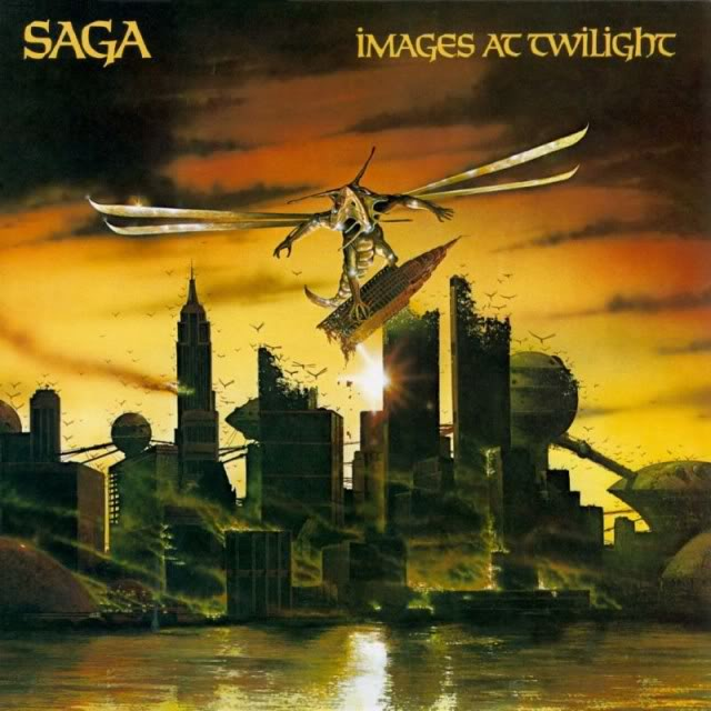 SAGA - Images At Twilight cover