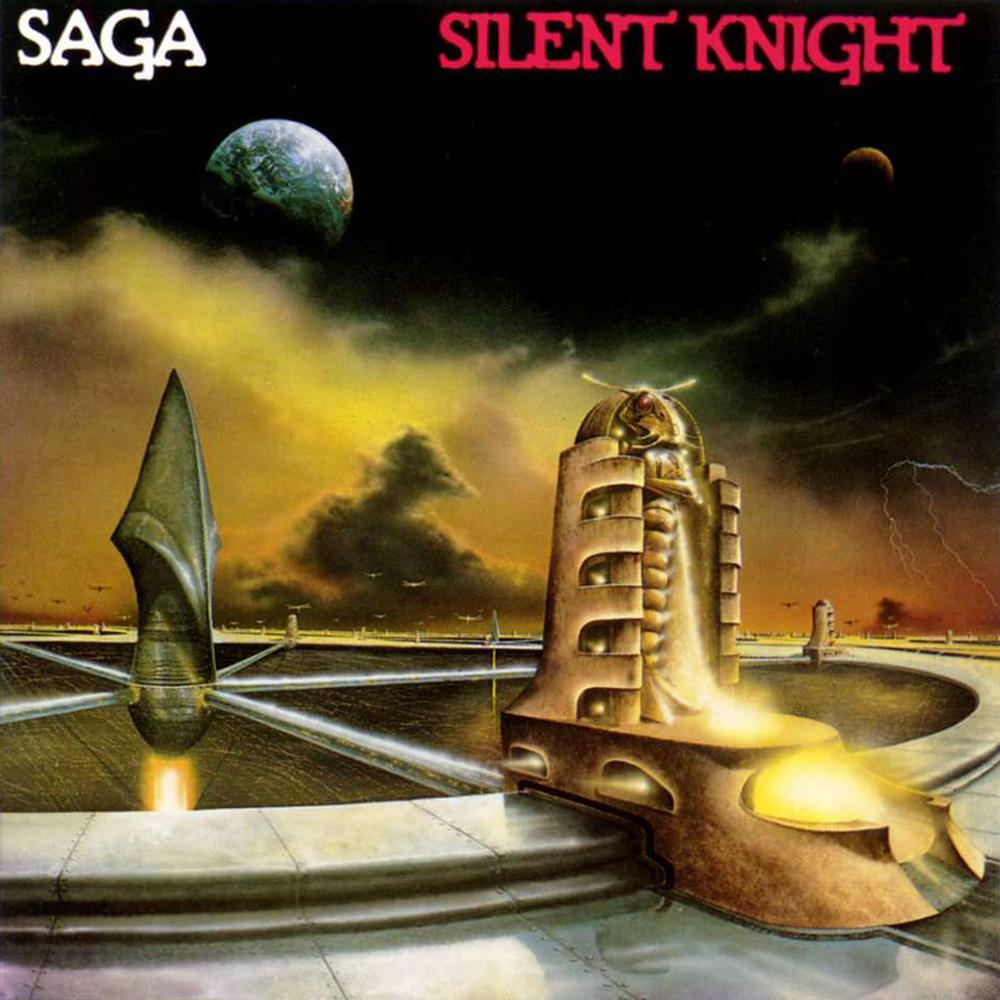 SAGA - Silent Knight cover