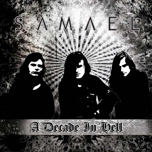 SAMAEL - A Decade in Hell cover
