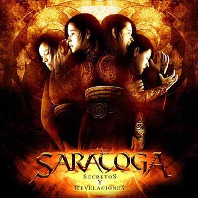 SARATOGA - Secretos y Revelaciones cover