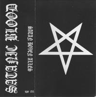 SATANIC BLOOD - Satan Boven Alles cover