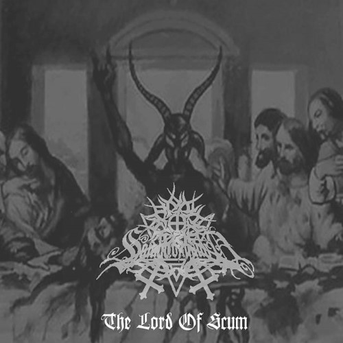 SATANICOMMAND - The Lord of Scum cover