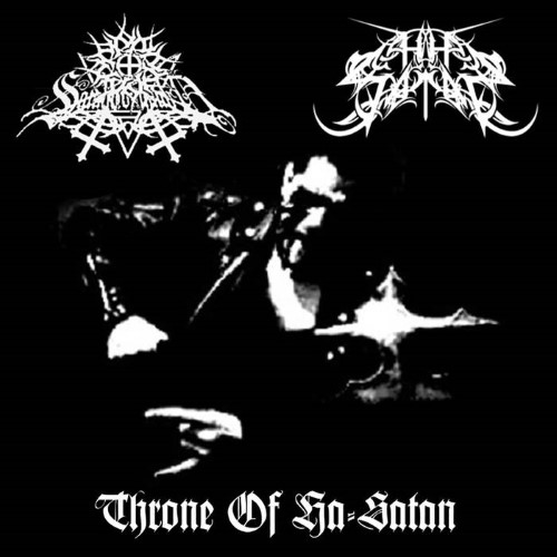 SATANICOMMAND - Throne Of Ha-Satan cover