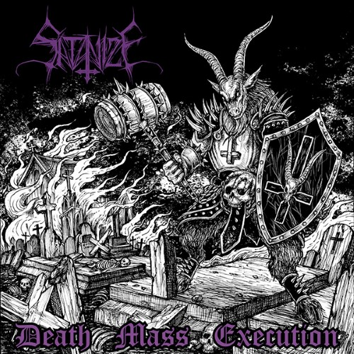 SATANIZE - Death Mass Execution cover