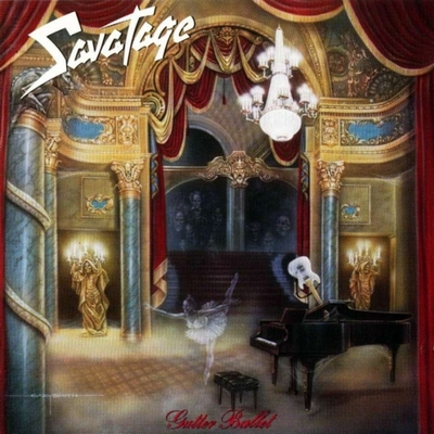 SAVATAGE - Gutter Ballet cover