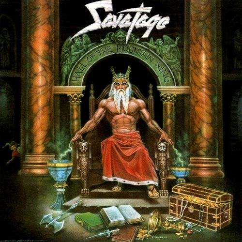 SAVATAGE - Hall Of The Mountain King cover