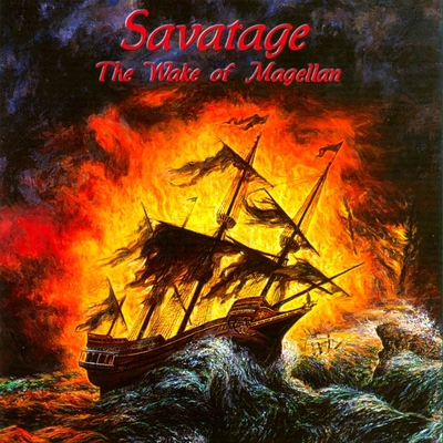 SAVATAGE - The Wake Of Magellan cover
