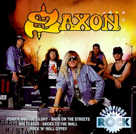 SAXON - Champions of Rock cover
