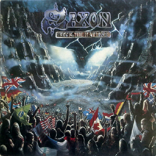 SAXON - Rock the Nations cover