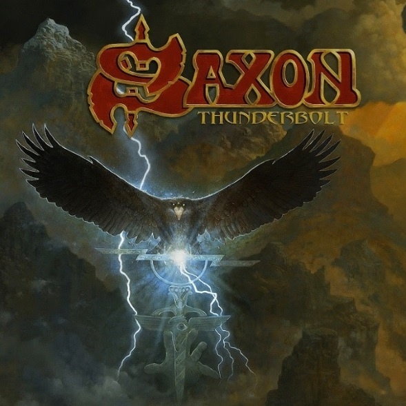 SAXON - Thunderbolt cover