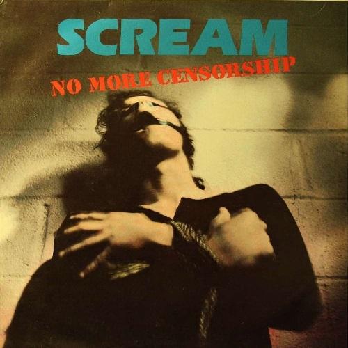 SCREAM - No More Censorship cover